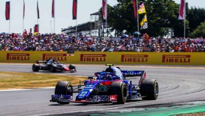 Gasli zaudē Lielbritānijas 'Grand Prix' izcīnīto F-1 čempionāta punktu