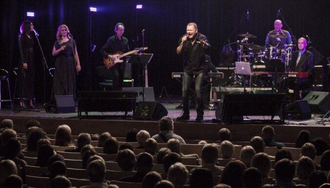 Foto: Igo un Mārtiņa Brauna koncertprogrammas 'Ūdens' pirmatskaņojums