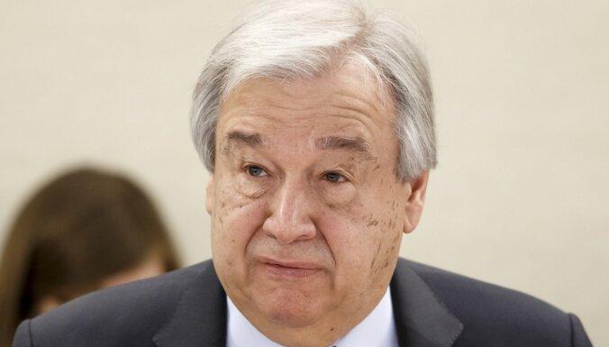 ANO ģenerālsekretārs peļ haotisko reakciju uz koronavīrusa pandēmiju