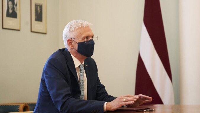 Кариньш призвал взять паузу и возобновить переговоры о перестановках в правительстве после выборов