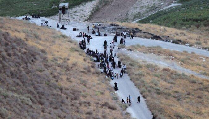 Sīrijas armija uzbrukusi robežpilsētai ar Jordāniju