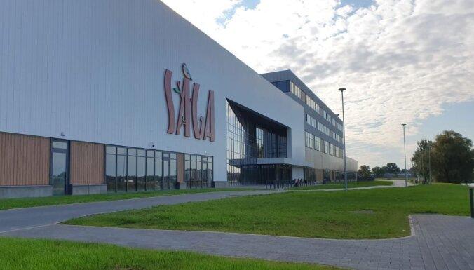 'Sāga' tirdzniecības centrā sāks darboties pirmie lielveikali