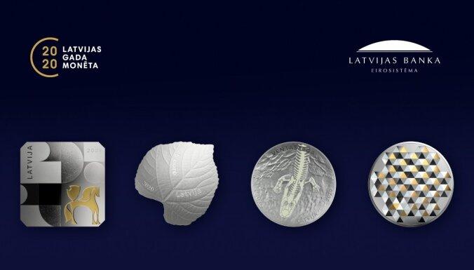 Četri darbi – kura kolekcijas monēta pērn bijusi izcilākā?