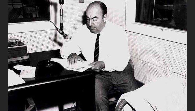 Čīles komunisti grib izmeklēt dzejnieka Pablo Nerudas nāves apstākļus