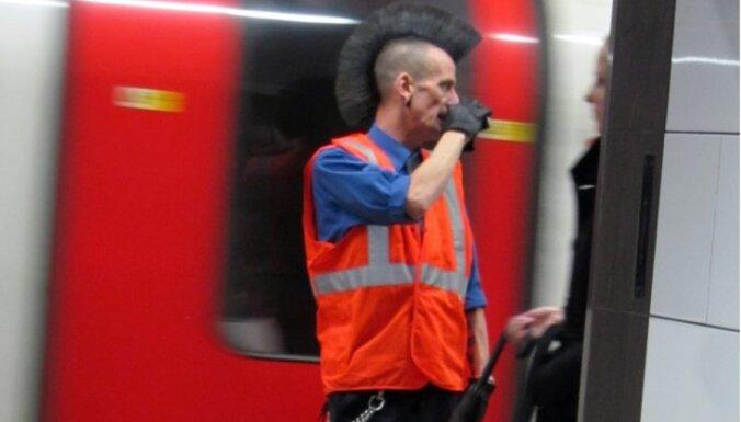 Londonas metro darbinieki sāk vērienīgu divu dienu streiku