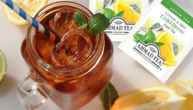 Холодный чай Ahmad Tea — Вкус этого лета