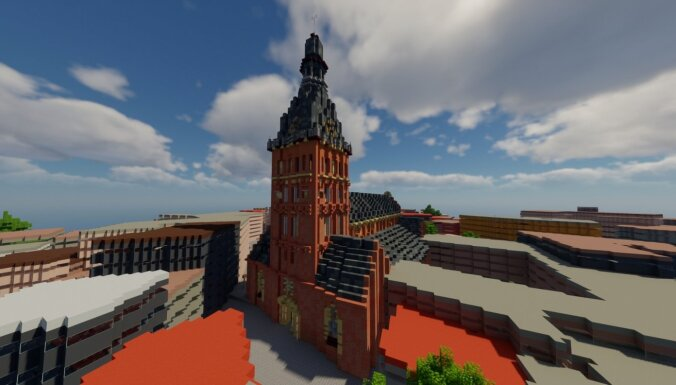 Uzbūvē Rīgu pats! Rīgas skolu audzēkņus aicina pieteikties 'Minecraft' sacensībām