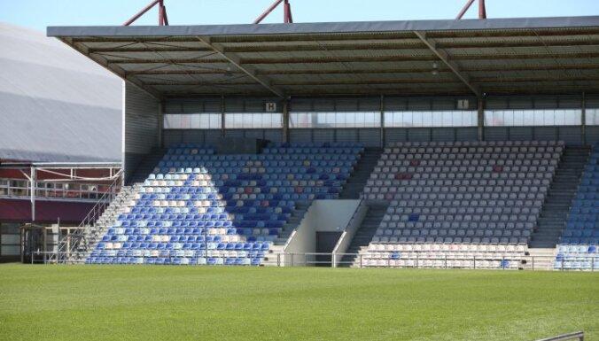 LFF vadība un UEFA priecājas par 'Skonto' stadiona stāvokli