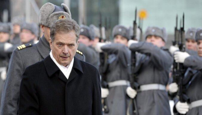 Somijas prezidenta amatā stājies Sauli Nīniste