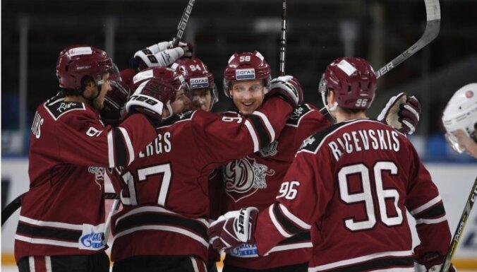 Rīgas 'Dinamo' aizvadīs KHL spēli zem klajas debess pie Pļavnieku 'atkritumu kalna'