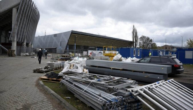 PČ treniņu halles likstas: VUGD gatavos pozitīvu atzinumu par 'Daugavas stadiona' ledus halli