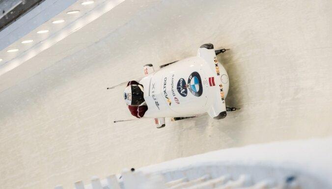 Ķibermanis/ Miknis Siguldā pirmo reizi karjerā triumfē Pasaules kausa posmā