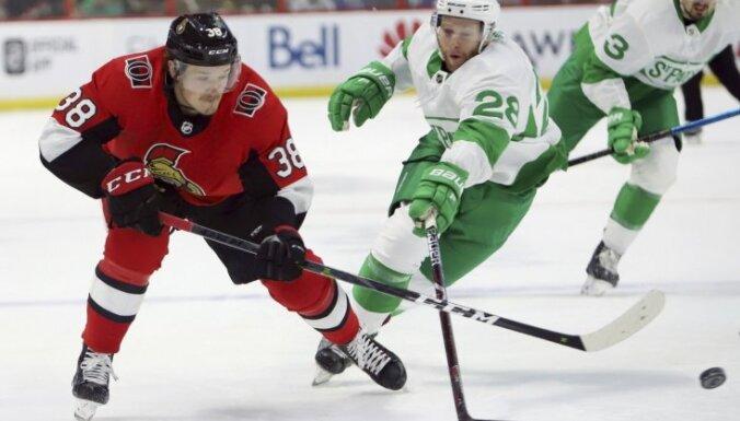 Balcers pirms NHL Visu zvaigžņu spēles pārtraukuma nosūtīts uz AHL