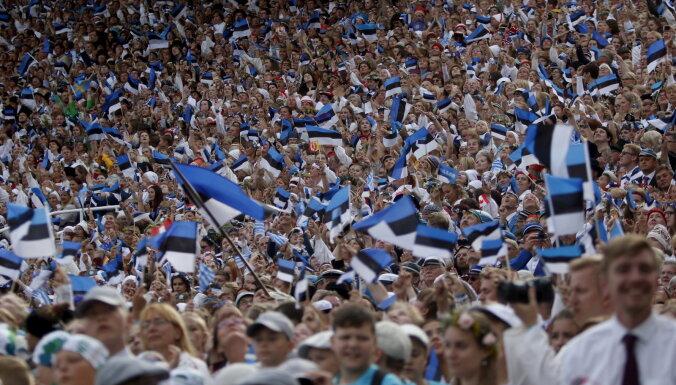 ФОТО: В Таллине прошло открытие Праздника песни