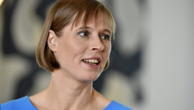 Президент Эстонии поздравила Путина с переизбранием