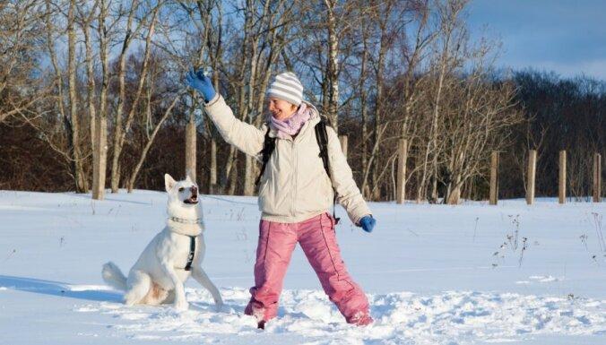 16. februārī aicina piedalīties orientēšanās sacensībās ar suņiem