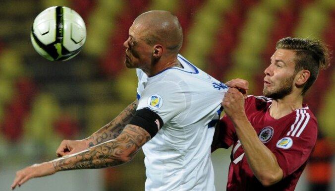 Провальный дебют не позволил сборной Латвии добиться результата