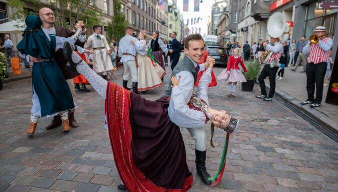 ФОТО: в Риге проходит праздник города
