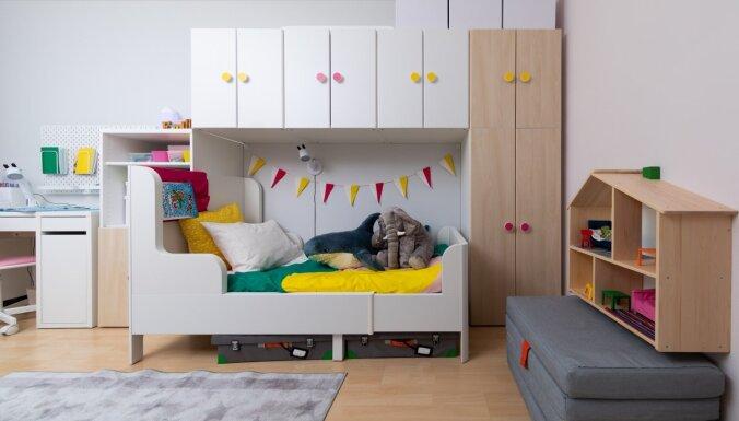ФОТО. До и после: дизайнер IKEA полностью переделала детскую для двух сестричек