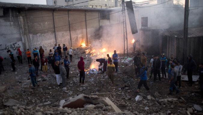 Израиль нанес более 80 ударов по сектору Газа