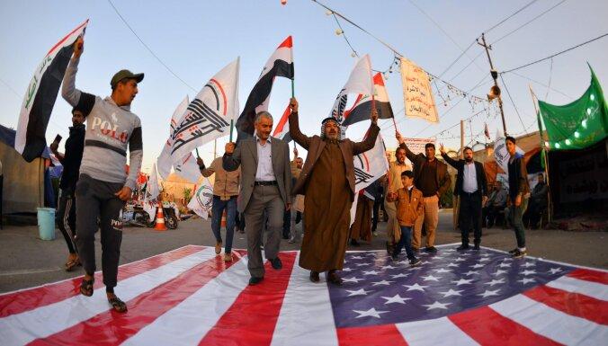 ASV vadītā koalīcija Irākā pārfokusējas uz bāzu aizsardzību