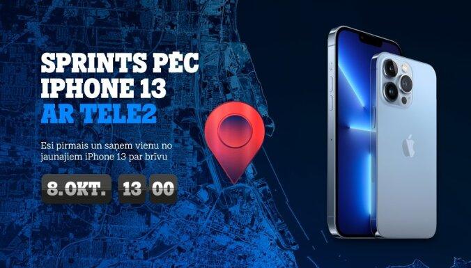 Latvijā notiks sacīkstes 'Sprints pēc iPhone 13'