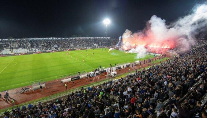 'Partizan' teju 25 000 skatītāju atbalstīti sasniedz Serbijas kausa finālu