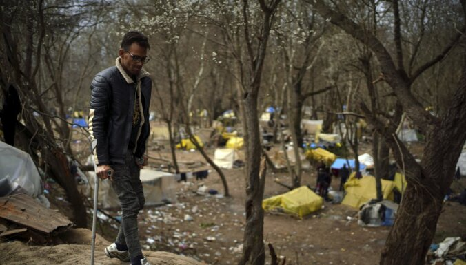 Migranti pametuši Turcijas un Grieķijas robežu