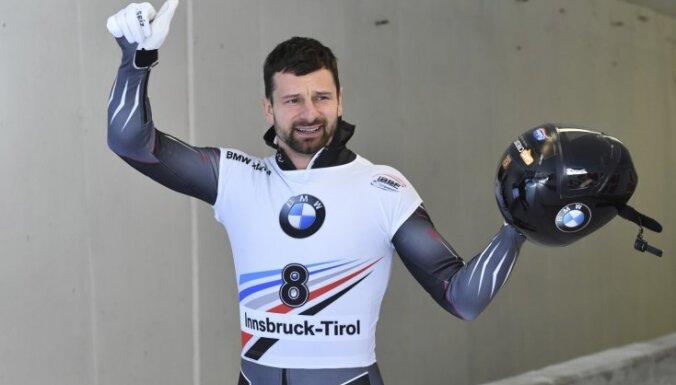 Martins Dukurs kļuvis par vienīgo Eiropas titulu rekordistu olimpiskajos ziemas sporta veidos