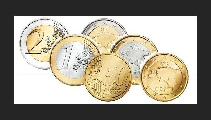 Tallinā izlīmēti plakāti pret eiro ieviešanu