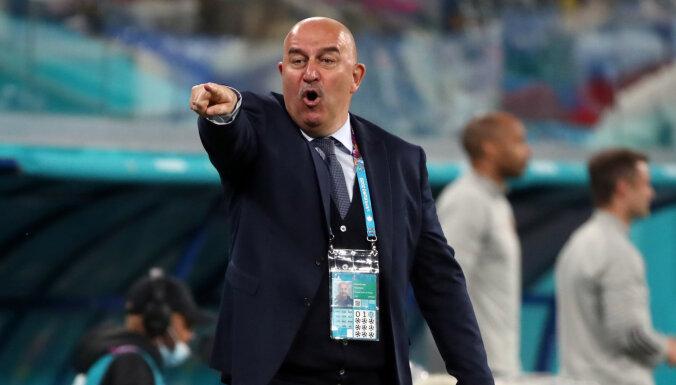 """Черчесов после 0:3 с Бельгией: """"Система России работала, но пропустили гол из ничего"""""""