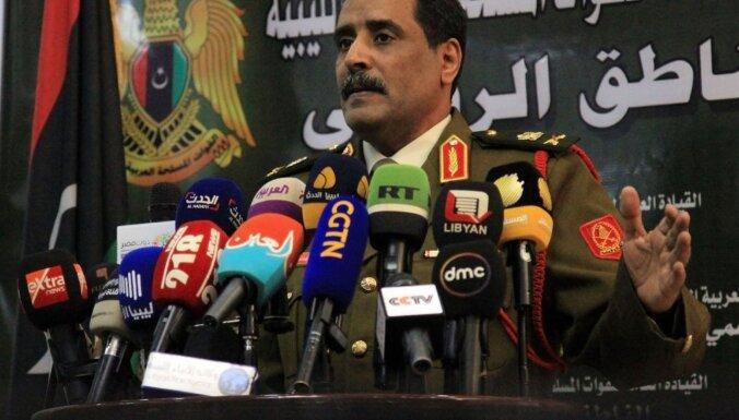 Lībijas feldmaršala Haftara spēki paziņo par kontroles pārņemšanu Sirtā