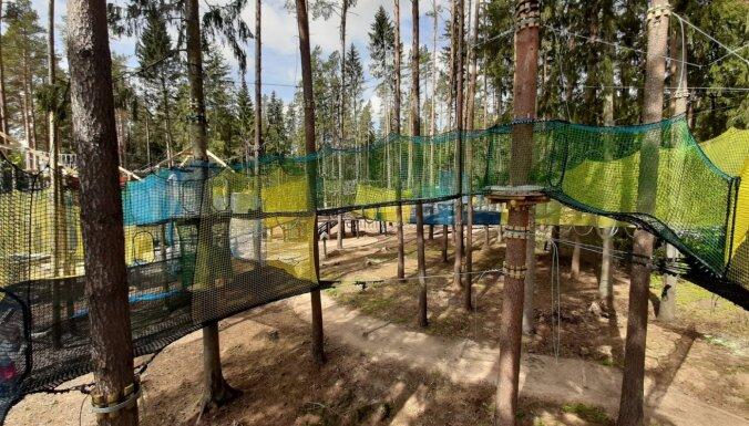 Foto: Kā izskatīsies Tērvetes tīklu parkā, kuru atklās šajā nedēļas nogalē