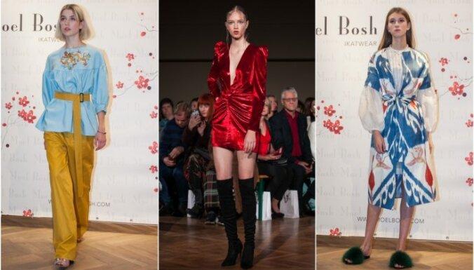 Второй день Рижской недели моды: кокетливые платья и яркие аксессуары