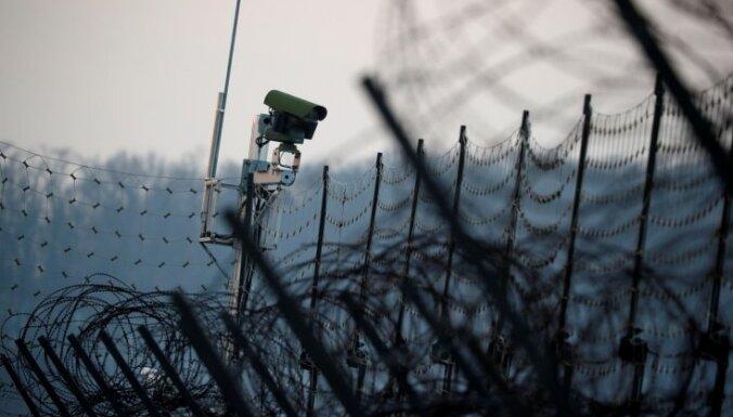 Uz Ziemeļkorejas un Dienvidkorejas robežas notikusi apšaude