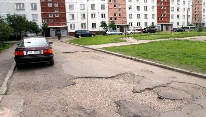В Риге начинают ремонтировать внутренние кварталы