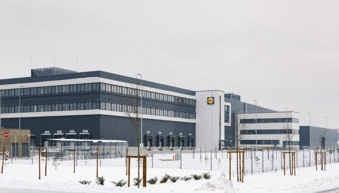 Rīgā pirmdien atklāts 'Lidl' loģistikas centrs