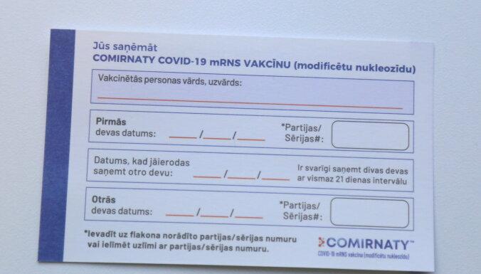 Pret Covid-19 piektdien vakcinēti 1780 cilvēki, kas ir līdz šim augstākais rādītājs