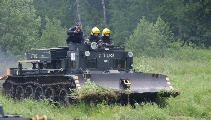 ФОТО: Юные пожарные и спасатели стран Балтии продемонстрировали навыки