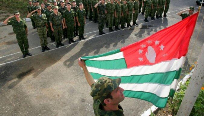 При взрыве на военных складах в Абхазии пострадали 19 россиян