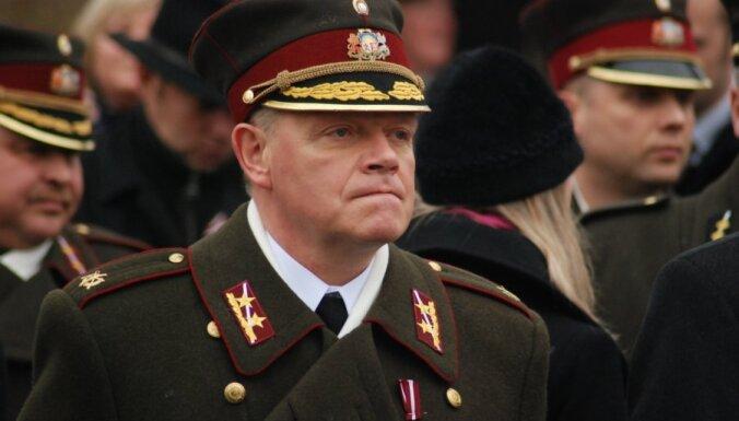 Graubi atkārtoti apstiprina NBS komandiera amatā