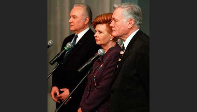 Президенты Литвы, Латвии и Эстонии