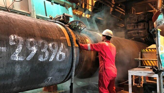 Vācija pauž nožēlu par ASV plāniem noteikt jaunas sankcijas pret 'Nord Stream 2'