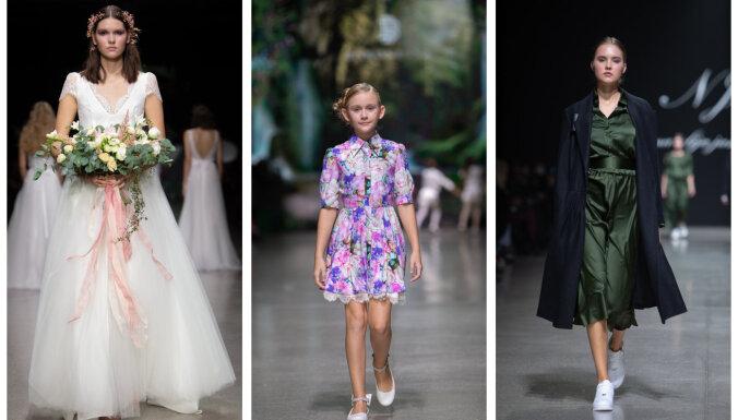 RFW trešā diena: no juteklīgām līgavu kleitām līdz dabas iedvesmotiem bērnu apģērbiem