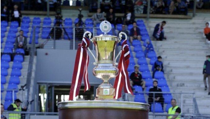 Названы пары четвертьфиналистов Кубка Латвии по футболу
