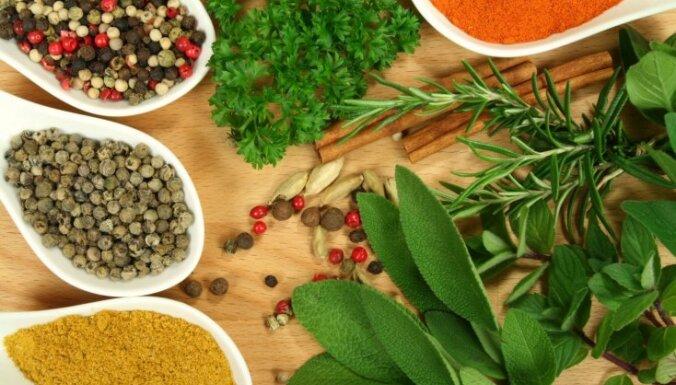 Garšvielu izvēlē latvieši ir konservatīvi, izvēlas citronskābi, piparus un lauru lapas