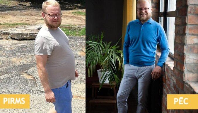 Foto: 'Ja zinātu, ka zaudēt liekos kilogramus ir tik viegli, nekad nebūtu ar tiem samierinājies'