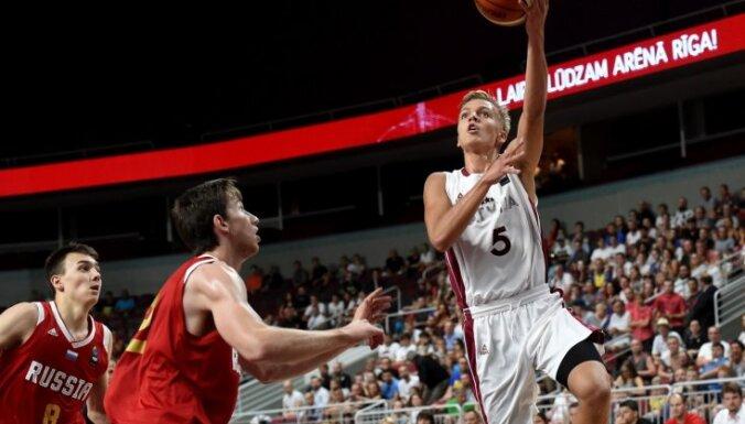 Latvijas U-18 izlases basketbolisti pirmo reizi vēsturē sasniedz Eiropas čempionāta finālu