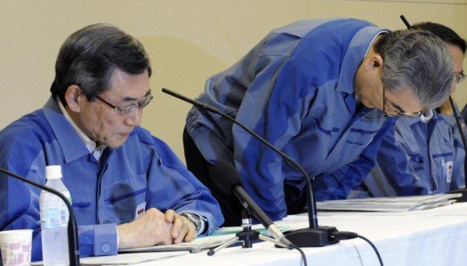 Atkāpies avarējušās Japānas 'Fukušima -1' AES operatorkompānijas prezidents