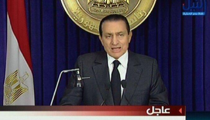 Ēģiptes prokuratūra pieprasa Mubaraka ģimenes ārvalstu kontu 'iesaldēšanu'